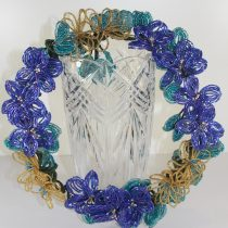 French Beaded Flower Wreath