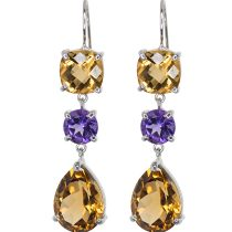 Divine citrine earrings