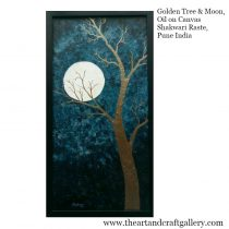 Golden Tree and Moon_Edited