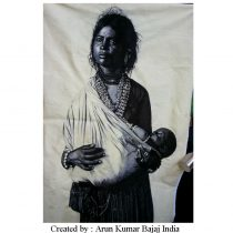 Indian Tribal Women with her baby _ edited