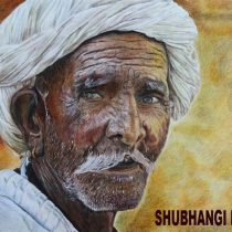 Potrait Paintings by Shubhangi Desai